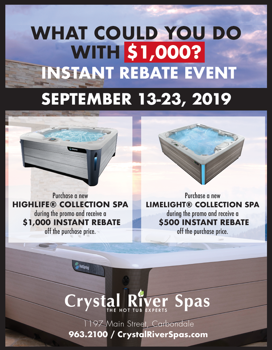 September Rebate Sale